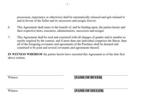 Mutual Release and Termination Agreement 1